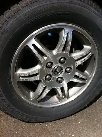 Used Honda Element >> Oxidized/Pitted Alloy Rims - Honda Element Owners Club Forum